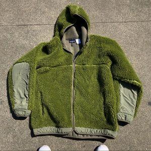 Patagonia Rhythm Hooded Deep Pile Fleece Jacket